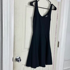 NEW Abercrombie &Fitch flare black  dress S